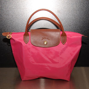 Longchamp Pink Tote Small Handbag